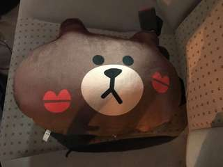 Line Friends 腰枕