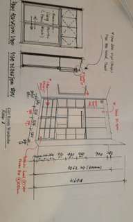 Design 3D cabinet drawing