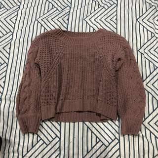 Extremely soft knit jumper