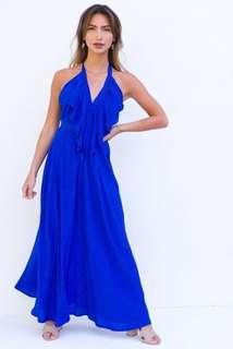 MOMBASA ROSE Maxi Dress