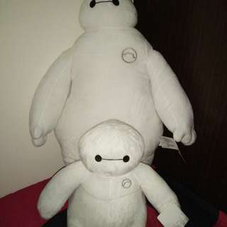 Baymax stuff toys. Mom and baby
