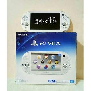 PS VITA 2K WHITE (USED PSVITA)