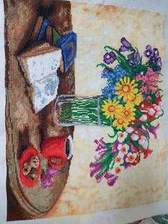 Hand made - cross stitch