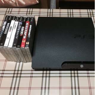 PS3 Slim 320GB Black