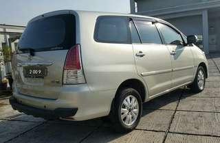 Toyota kijang innova V 2.5 at diesel 2009 / bayar angs 1.9 jt