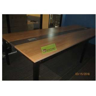 CT-4701 CONFERENCE TABLE WITH WIRE MANAGEMENT 240X120cm