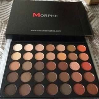 Morphe 35 All Matte Nature Glow Eyeshadow Palette