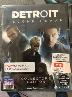 Detroit Become Human (Codes Unused)