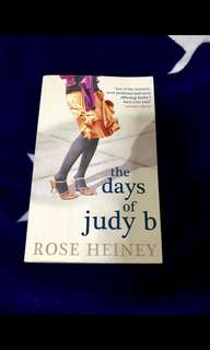 Rp$30-The days of Judy B book by Rose Heiney