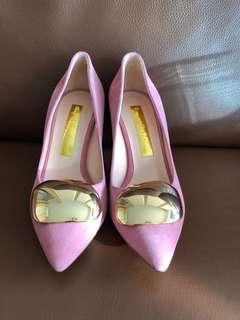 Rupert Sanderson suede (heels 80cm, size 35.5)