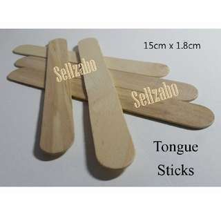 20 Pcs : Press Tongue/Mouth Sticks : Dental : Doctor : Tools : Check : Teeth : Wood : Wooden : Spatula : Swell : Swelling : Use : Throat : Oral : Hygienie : Clean : Odour : Breathe : Smell : Sellzabo