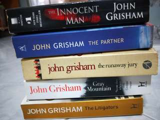 🚚 John Grisham Books. All need to go.