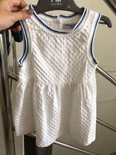 Gingersnaps Dress White