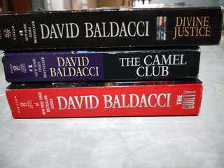 🚚 David Baldacci Books