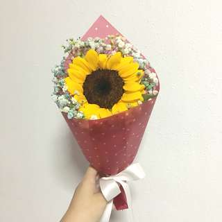Sunflower Bouquet / Graduation Bouquet / Get well Soon / Birthday flowers
