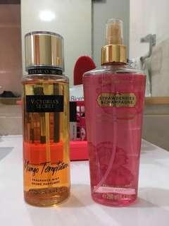 Victoria's Secret Body Sprays