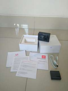 Xiaomi Yi international Black mint Like new