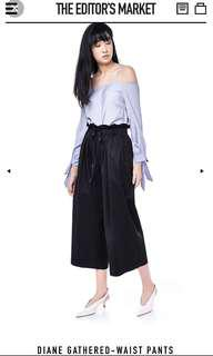 🚚 ✨[INSTOCK] TEM diane gathered waist pants / culottes