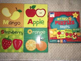 My First Puzzles Fruits Set