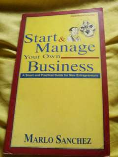 Start and Manage your own Business