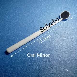 Oral Mirror Dental Check Teeth Tooth Gum Mouth Sellzabo Dentist Use White Colour