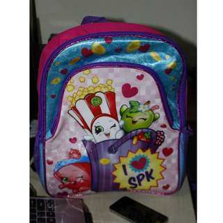 Never Been use Shopkins Backpack I Love SPK Picture