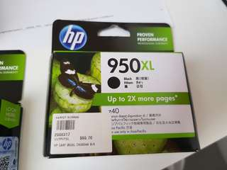 HP Ink Cartridge 950XL-Black & 951 XL Red (Brand New)