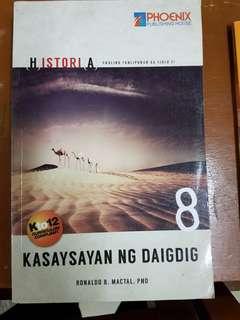 Grade 8 Historia Kasaysayan ng Daigdig