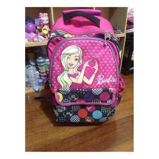 SM Barbie trolley bag