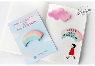 Cute whimsical post its