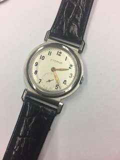 1940s Eterna  鋼上錬手表