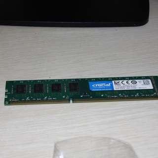 Crucial 8GB DDR3L-1600 Desktop RAM
