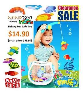 Fishing Fun Soft Toy