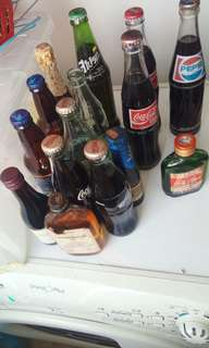 Coke Bottles Pepsi others