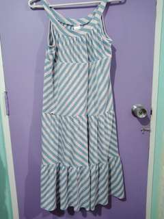 Plus size dress casual imported