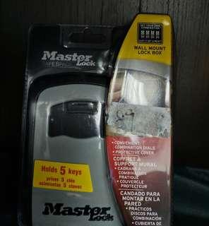 美國Master Lock/瑪斯特鎖 鑰匙盒密碼鎖 儲存盒 萬位密碼鎖5401D