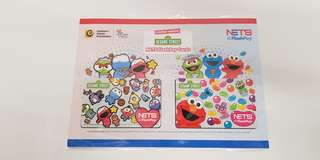 Brand New Sold Out Sesame Street Ezlink Flashpay Full Set with Nice Folder