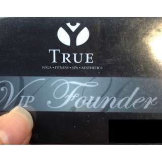 TWO True Fitness Lifetime Founders Gym Membership