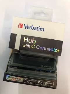 Verbatim Hub with C Connector (灰色)