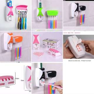 Zgtsky 300 toothpaste & toothbrush dispenser