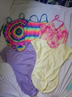 5pcs swimsuit(take all)