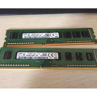 Samsung 4GB DDR3-1600MHz Desktop Memory