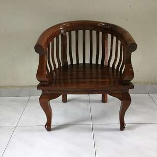 Small old time teakwood chair