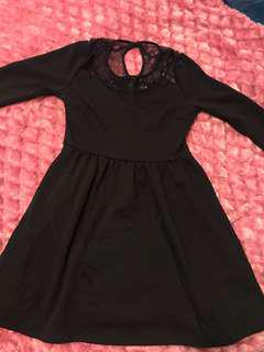 Black Dotti Dress