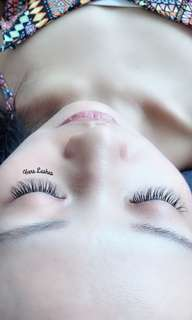 Eyelash Extensions 5D Volume
