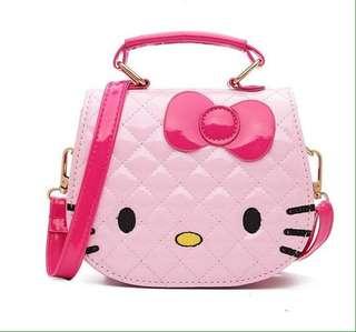 Hello Kitty Bag Mini Leather Shoulder Bag