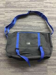 Black Chocoolate Messenger Bag