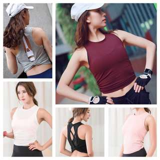 CR: Fitted Cropped Top