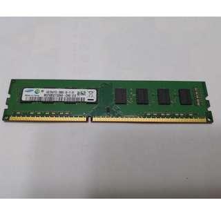 Samsung DDR3 PC3-10600U-09-11-B1 1300MHZ 4GB desktop RAM