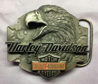 珍藏HARLEY-DAVIDSON 皮帶扣一個